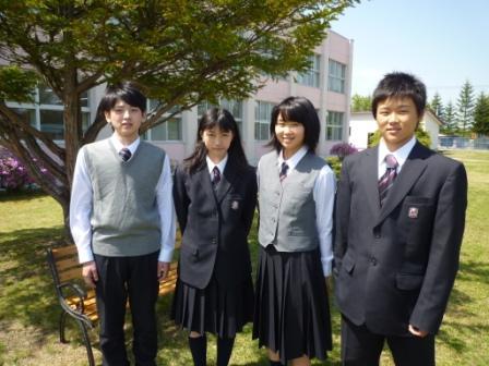 阿寒高等学校制服画像